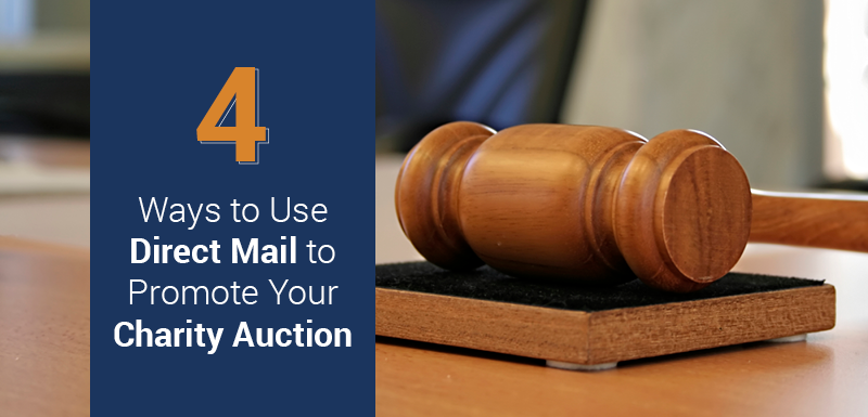 Learn how to use direct mail to increase awareness for your next charity auction.