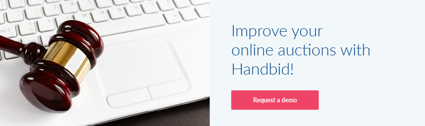 Improve your online auctions with Handbid by requesting a demo!