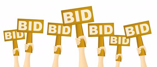 Don't let your guests take their bids back!