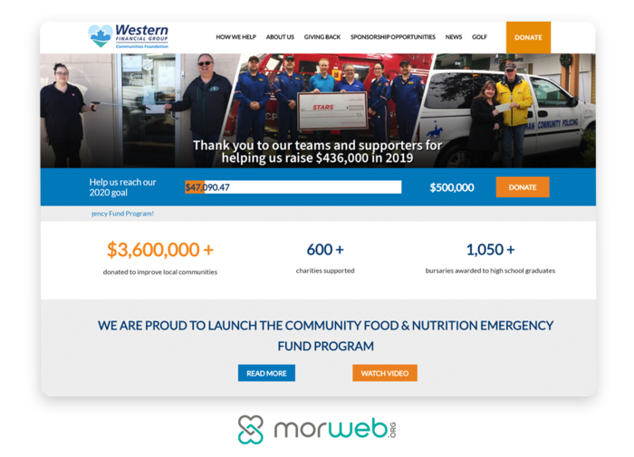 Morweb-Handbid-6-Proven-Ways-to-Improve-Your-Nonprofits-Donation-Page-fundraising-thermometer