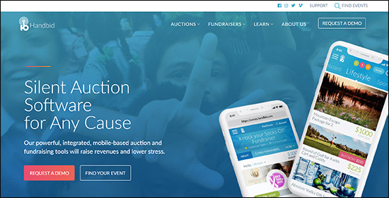 Handbid's nonprofit auction software can help boost revenue with ease.