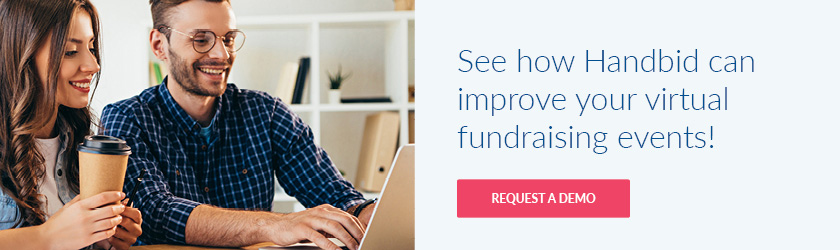 See how Handbid's all-in-one software can improve your virtual fundraising events.