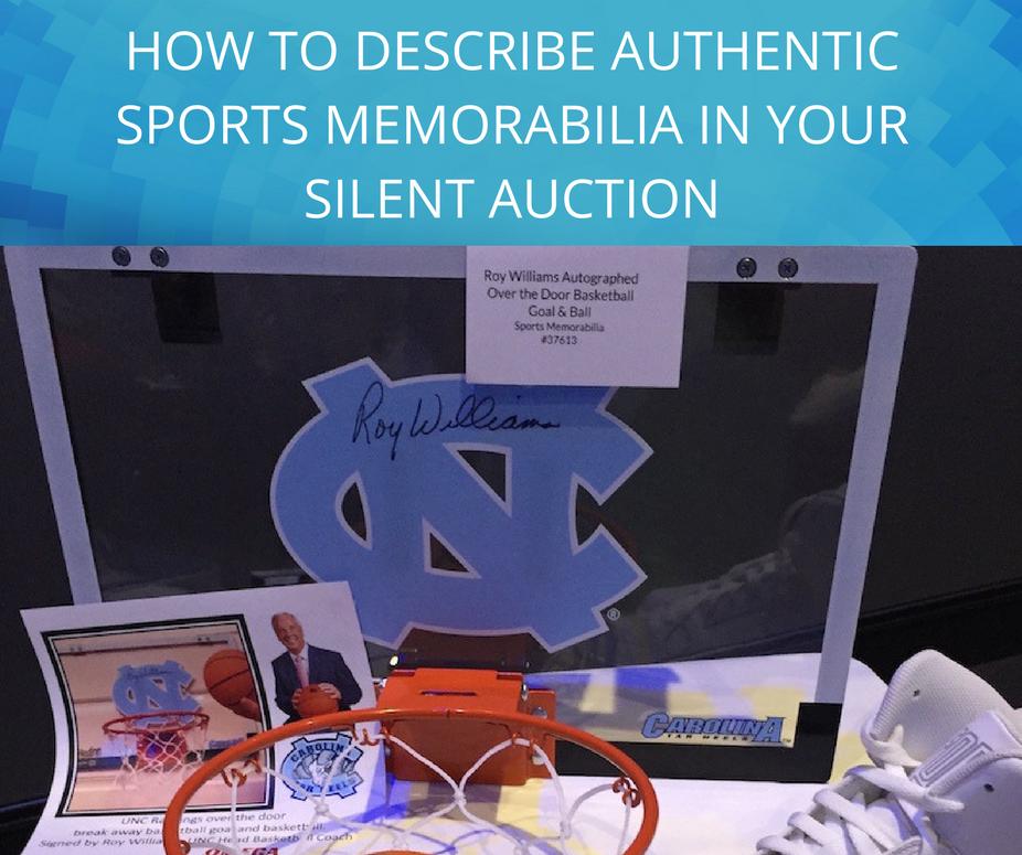 describe-sports-memorabilia-silent-auction
